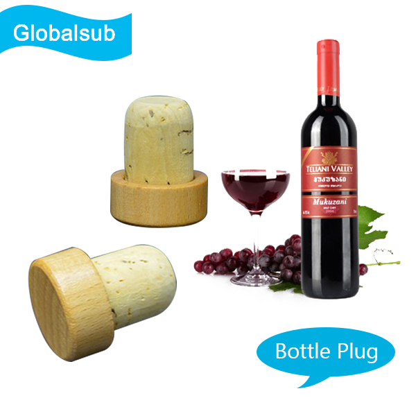 DIY Cork Bottle Plug with Sublimation Blanks