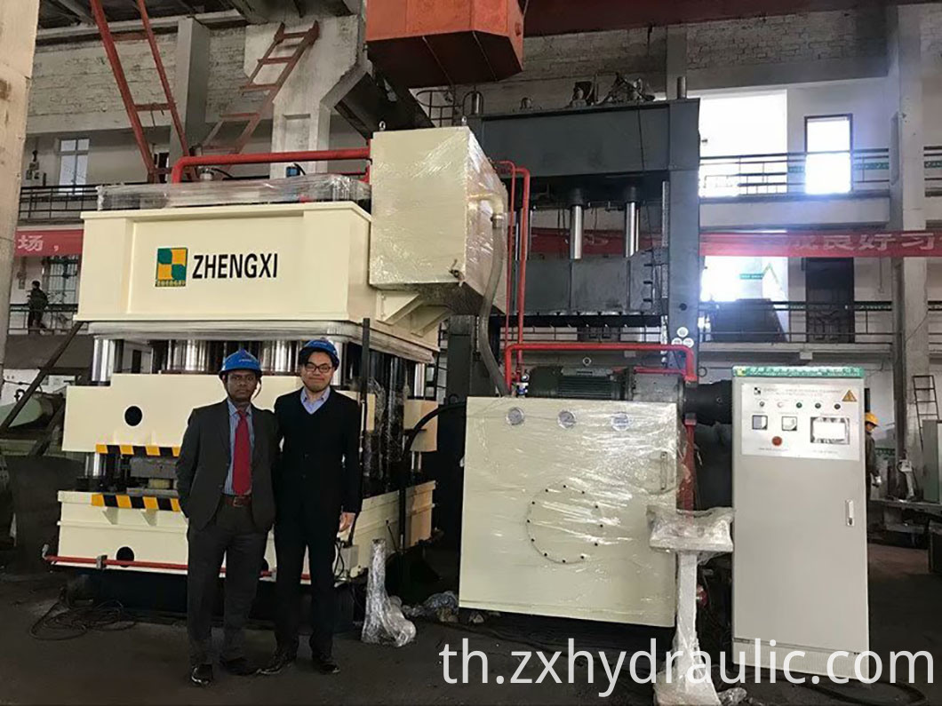 hydraulic press machine embossing door