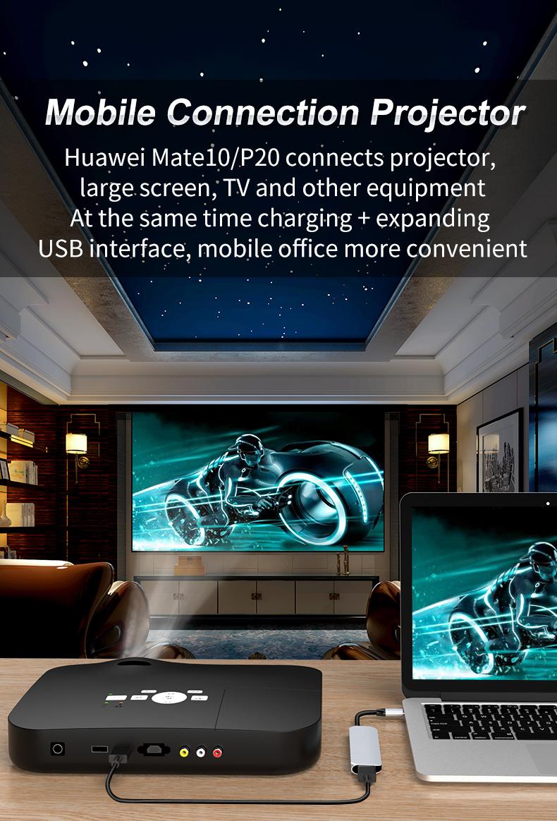 USB-C HUB 4 in 1