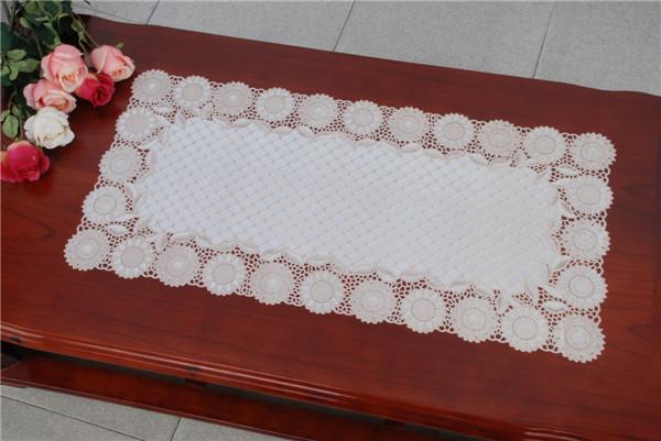 PVC Vinyl Lace Silver Doilies/Doilies with Silver Lace