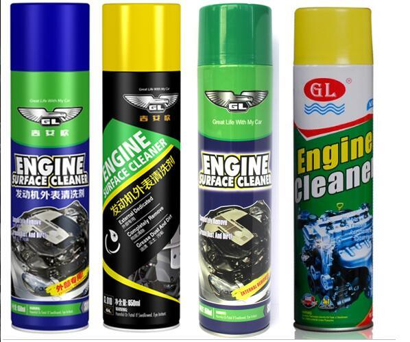 Super Engine Foam Cleaner Degreaser
