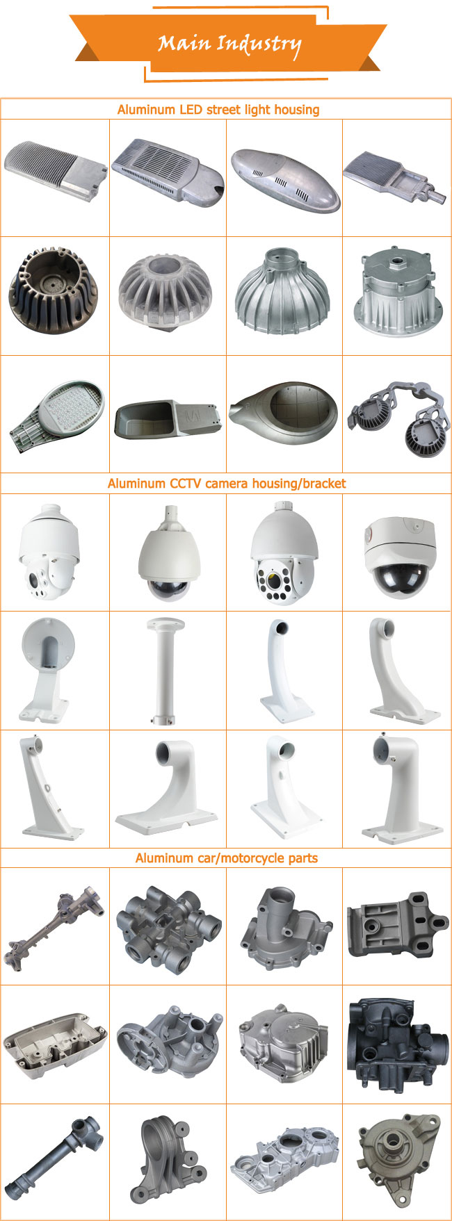 CNC Aluminum Alloy Motorcycle Spare Parts and Accessories Factory Made in China