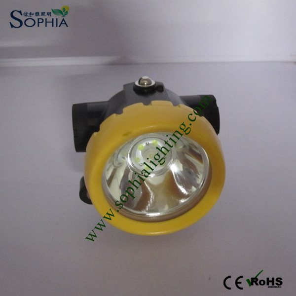LED Headlight with Rechargeable Battery 18650 Lithium