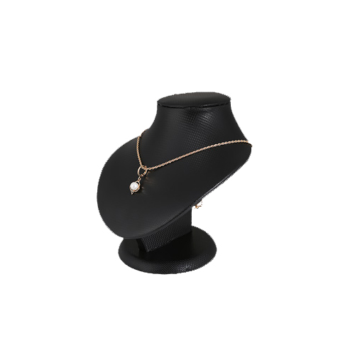 Popular Black PU Jewelry Necklace Display (NS-BN-1)