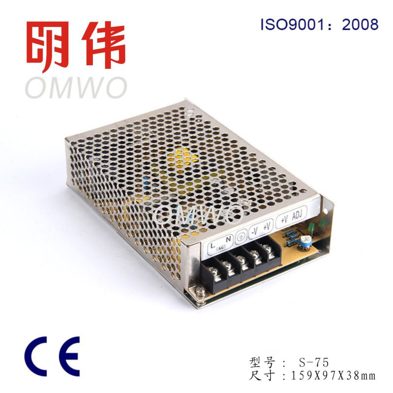 S-100-5 Switching Power Supply Input Voltage 100-240V AC to DC 5V 100W