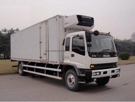 Hot Sale Isuzu Frozen Fish Meat Transport Box Freezer Refrigerated Truck with 5-50m3