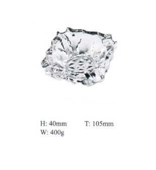 Glass Ashtray with Good Price Kb-Jh06186