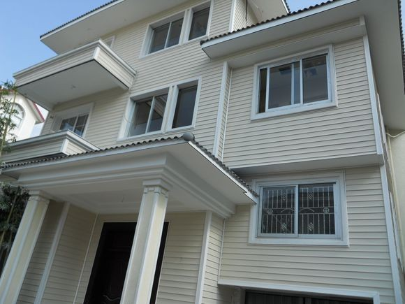 PVC wall decoration panel for exterior and internal wall