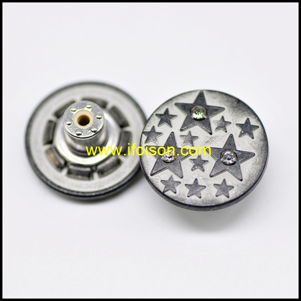 Star Jeans Button for New Season Jeans
