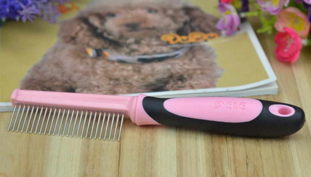 Pet Grooming Tools Kit with Combe Brush Leash Nail Cutters Sets