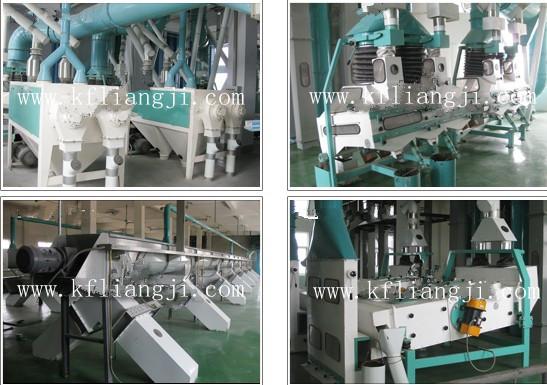 Pneumatic Pulverizer Roller Flour Mill