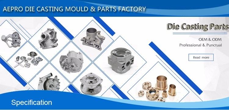 Custom Casting Aluminum Die Cast Aluminum Die Casting with Anodizing Parts