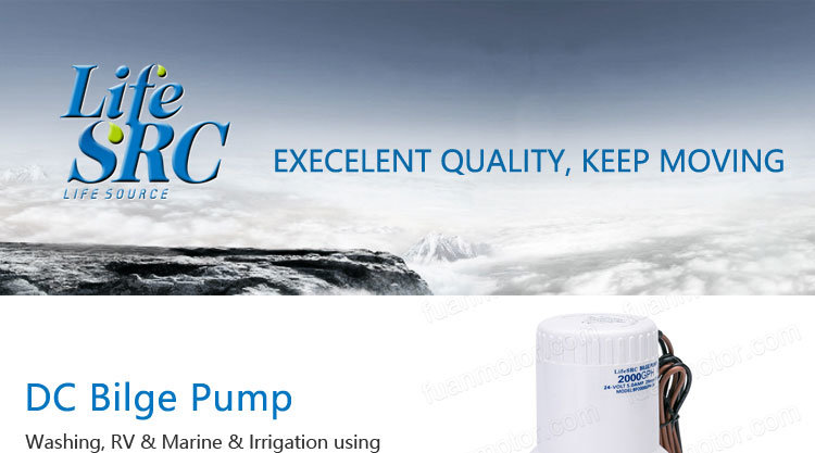 Lifesrc Submersible Bilge Pump - Marine / Boat / Yacht / Water / Ocean / Sea - 24V 1500gph