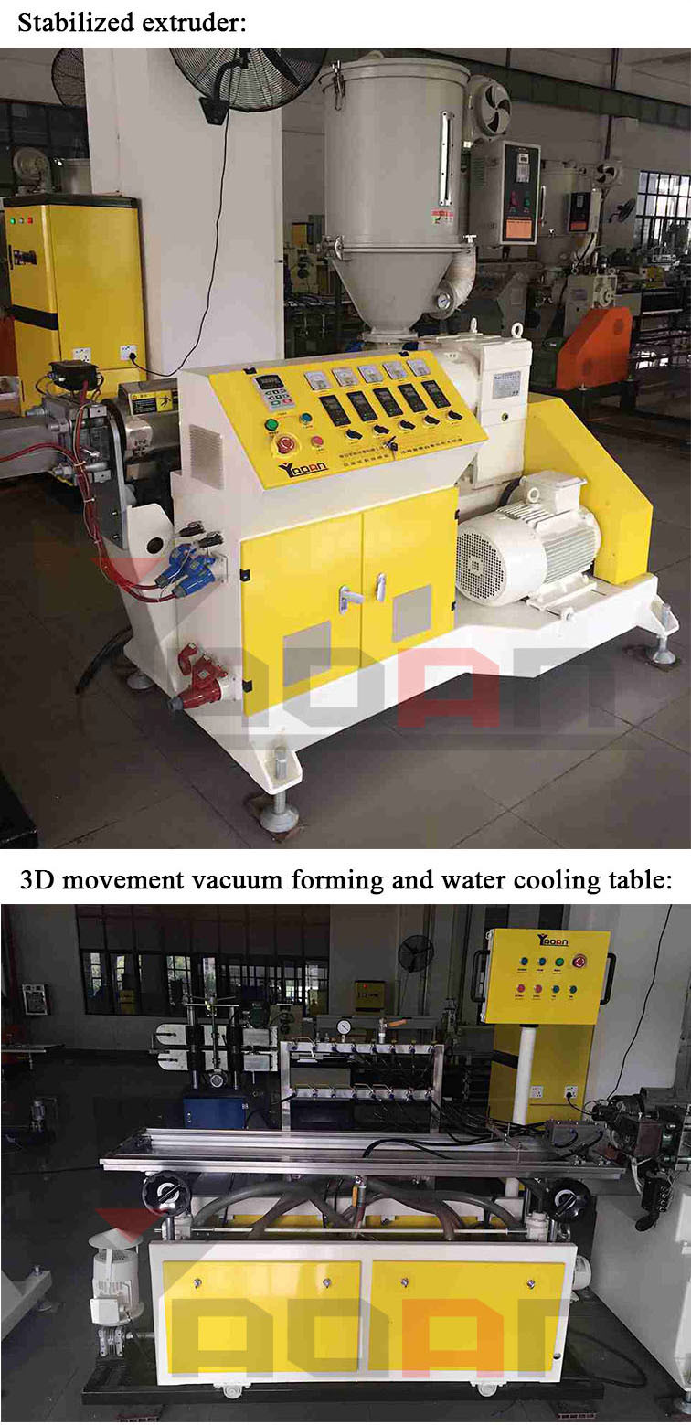 Af-50/45 PC LED Light Housing Cover Lampshade Batten Making Machine