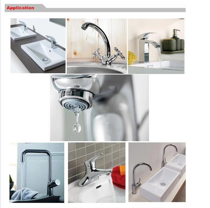 Brushed Hot and Cold 304 Stainless Steel Wash Kitchen Faucet