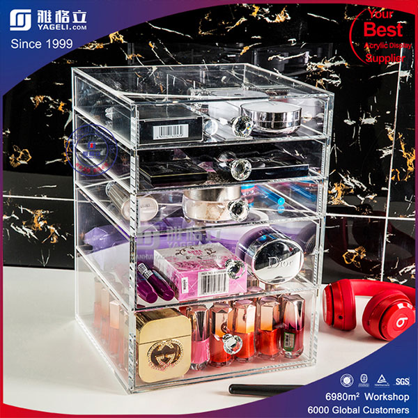 Clear Acrylic Makeup/Cosmetics Organizer