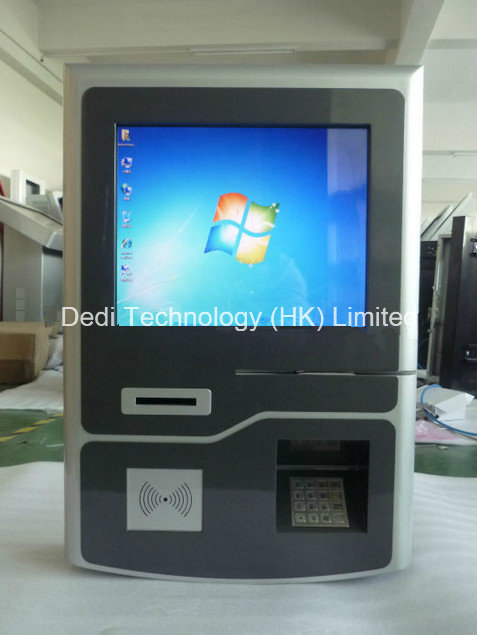 Wall Mounted Self Service Terminal, Card Reader Payment Terminal, Touch Screen Terminal