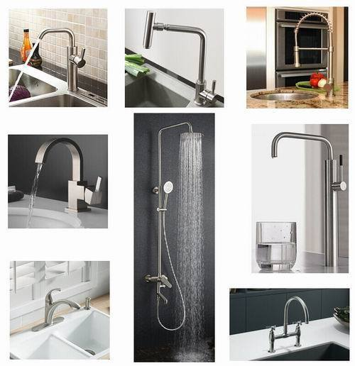 Sanipro Brass Chrome Plating Basin Hot Cold Water Mixer Tap