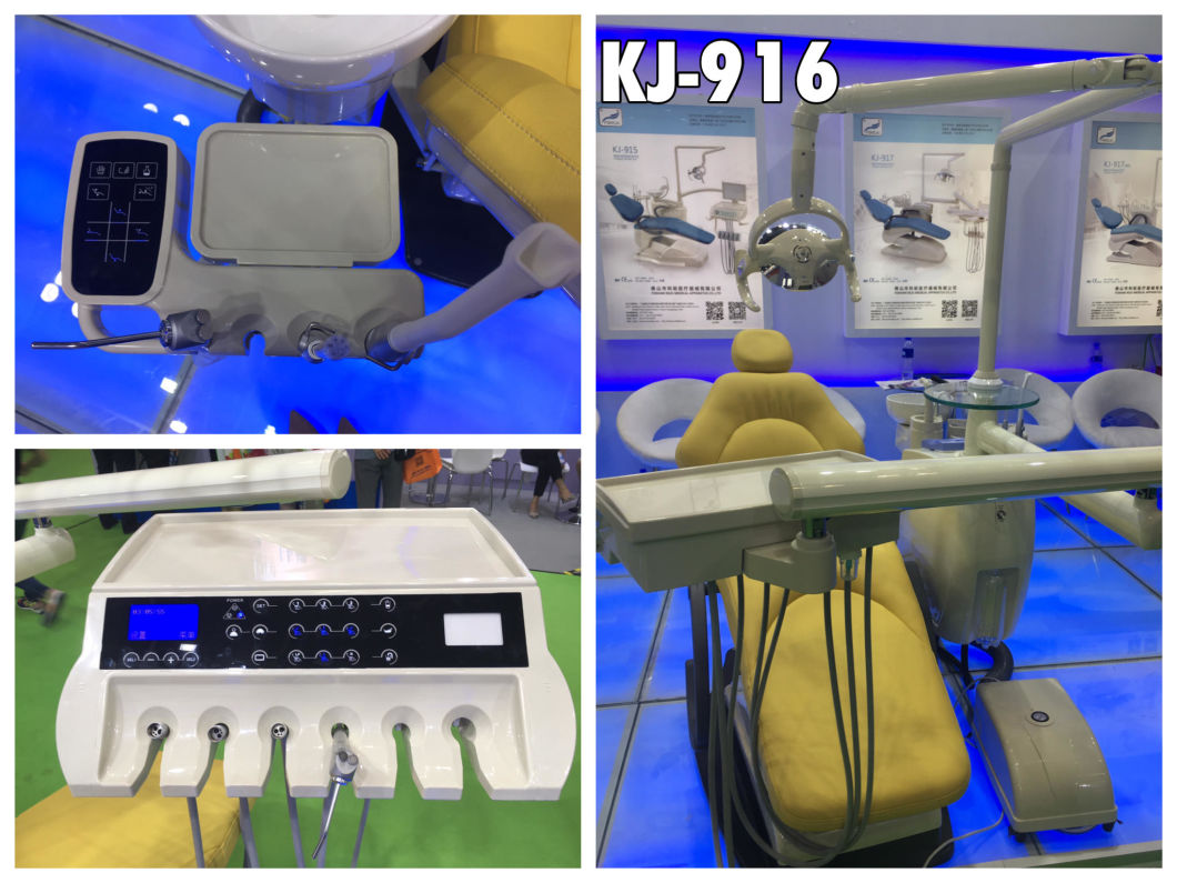 Hot Selling High Quality Touch Screen Ce Approved Dental Unit with LED Sensor Light Lamp