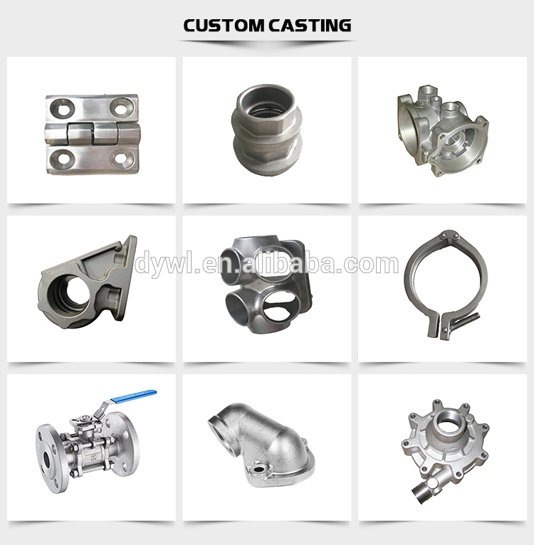 stainless steel safety cap hardware thread investment casting and cnc machining China foundry