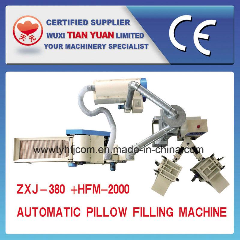 Automatic Pillow Filling Machine (ZXJ-380+HFM-2000)