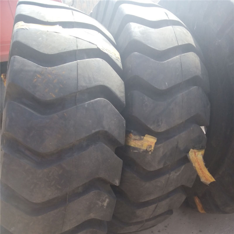 OTR Tyre 18.00-25 E-4j, Reachstackers and Forklift Truck Tyre for Crane Use