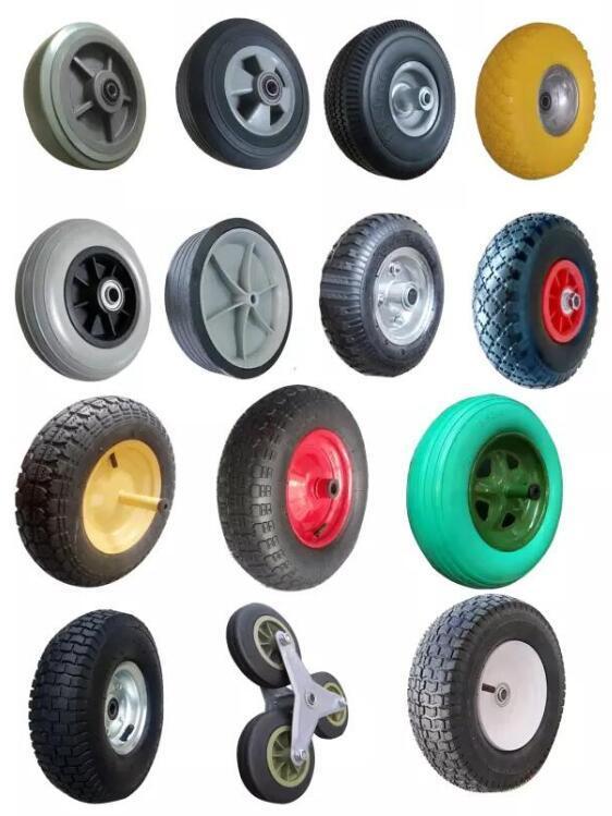4.00-6 Rubber Tyre 13 Inch Pneumatic Rubber Wheel