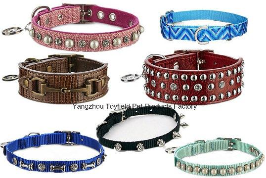Pet Collar Cat Leash Harness Dog Pet Flea Ring