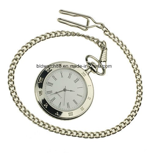 Hot Mens Golden Mechanical Pocket Watch for Sale