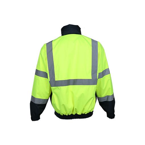 Detachable Fleece Lining Reflective Safety Jacket