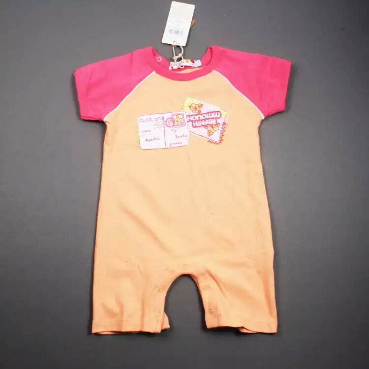 Baby Romper Summer Jumpsuit/Romper 100% Cotton Stock Apparel for 0m-24m