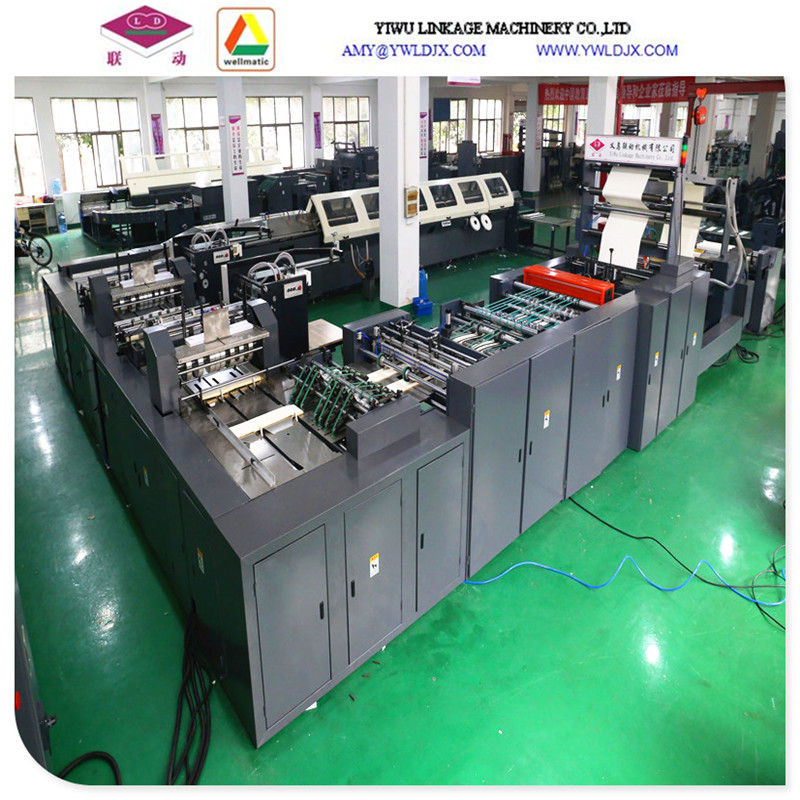 School Wire Exercise Book Machineflexography Printing Ruling Machine