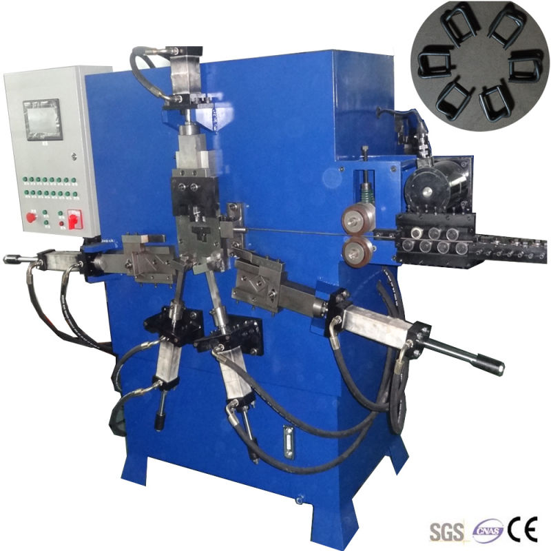 2016 Strapping Wire Buckle Forming Machine