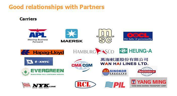 China Shipping Agent From Shenzhen/Shanghai/Ningbo/Xiamen/Fuzhou to Vietnam