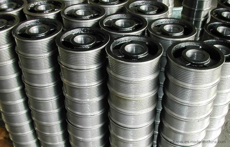 Professional Manufacture Steel/Nodular Cast Iron/ Belt Pulley