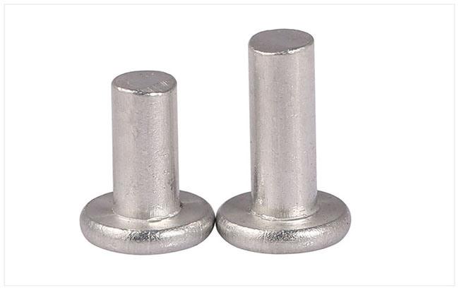 Aluminum Flat Head Solid Tinmen Rivet