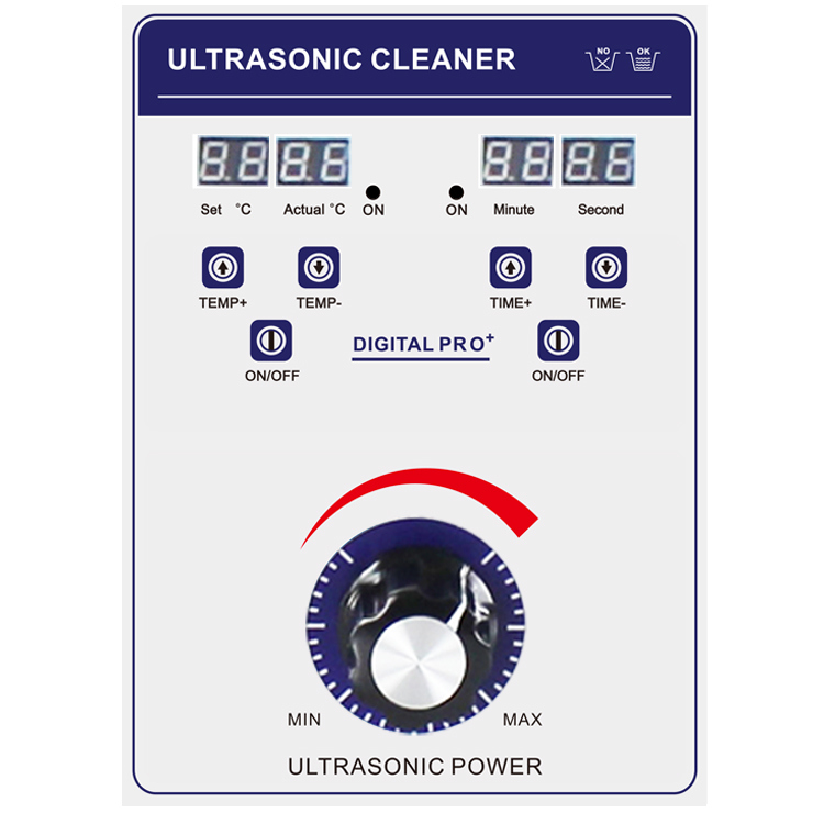 Fully Clean with Video Feedback Motor Ultrasonic Cleaning Machine