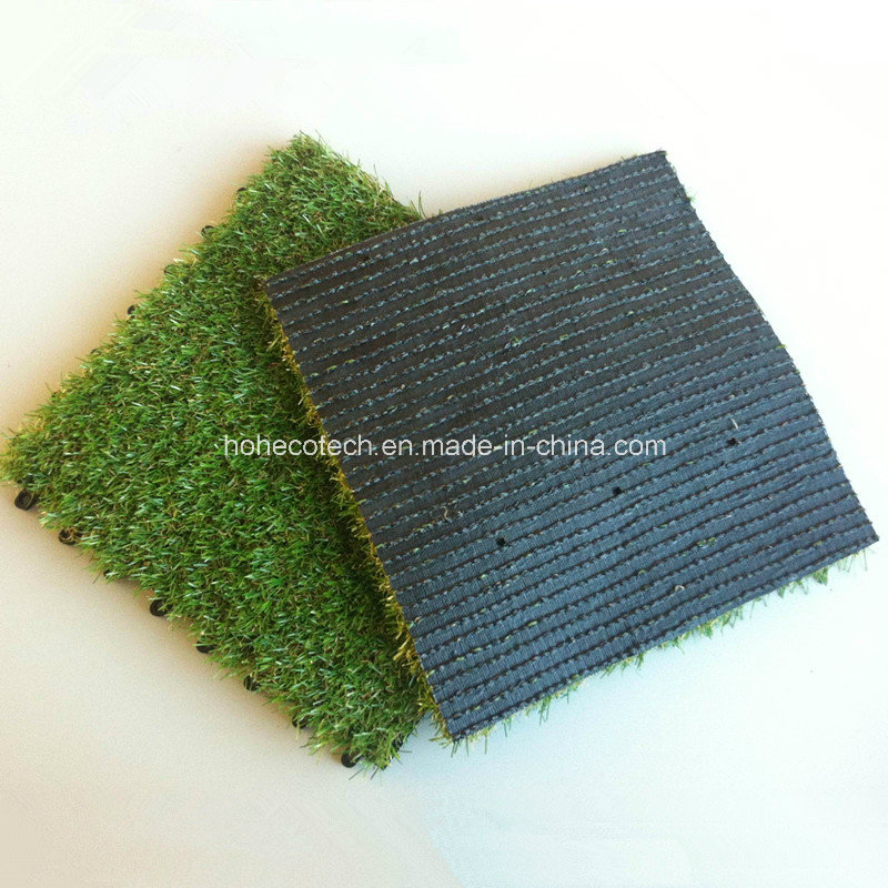 Artificial Grass Tiles 30s30-Agt WPC Decking Tiles Decoration