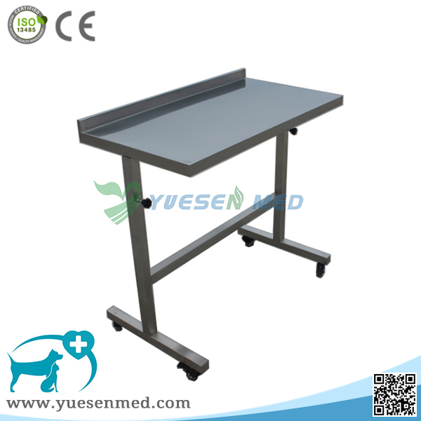 Medical Veterinary 304 Stainless Steel Surgical Instrument Trolley