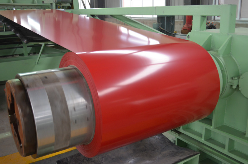 Color Coated Steel Coils/PPGI Coil Used in Roofing