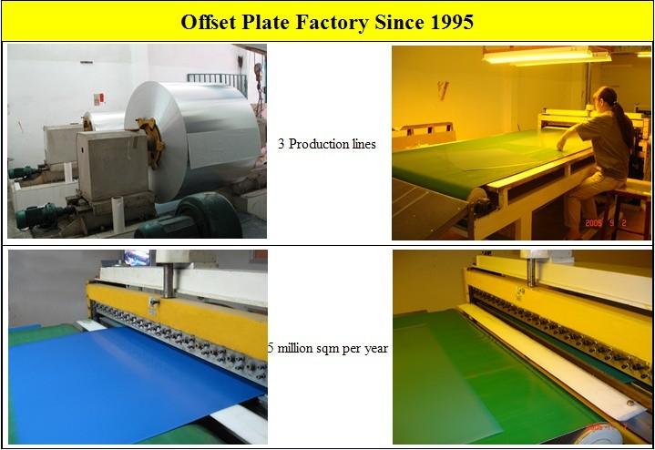 Sharp Dots Sensitive Ctcp Printing Plate
