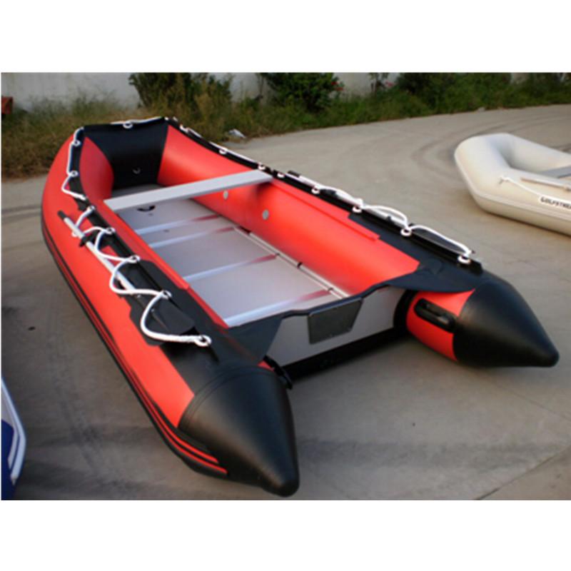 Ce 3.6m China PVC Foldable Inflatable Motor Boat