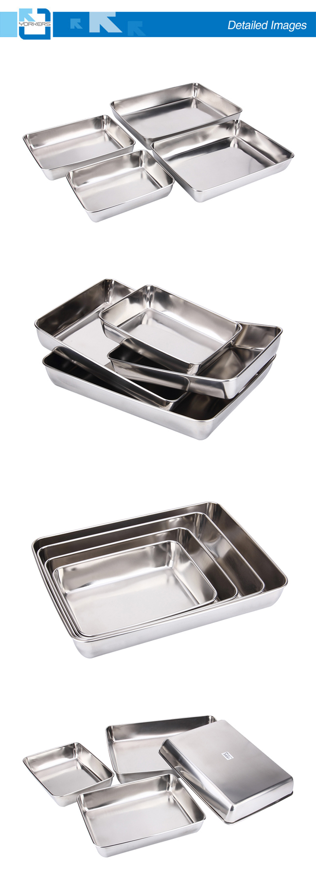 Hot Sale Service Equipment Stainless Steel Service Towel Dish Hotel Towel Tray