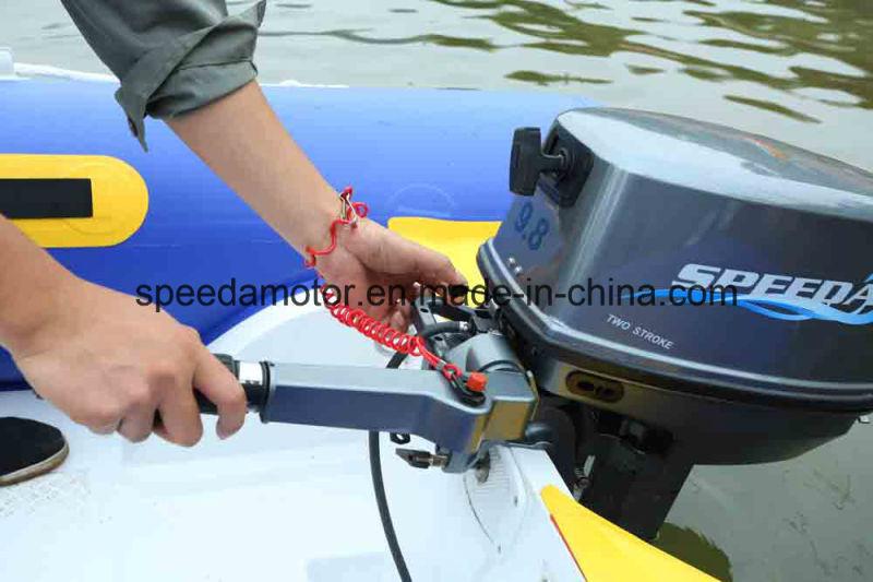 Powerful 9.8HP 2 Stroke Yadao Boat Outboard Motor for Sale