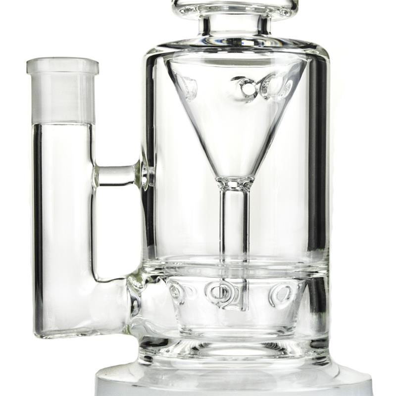 Saucer Perc Incycler Hookah Glass Smoking Water Pipes (ES-GB-364)