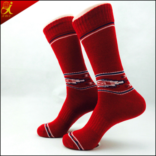 Cotton Material Custom Men Sock