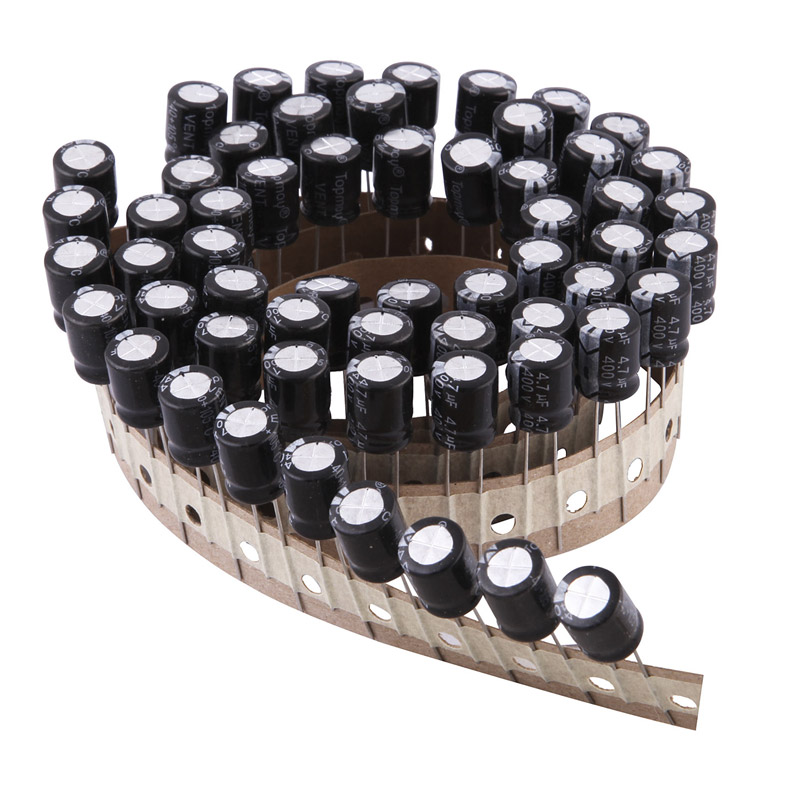 4.7UF Ammo Packing Aluminum Electrolytic Capacitor 105c