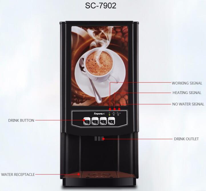 Best Seller Espresso Coffee Maker Automatic Machine Sc-7902