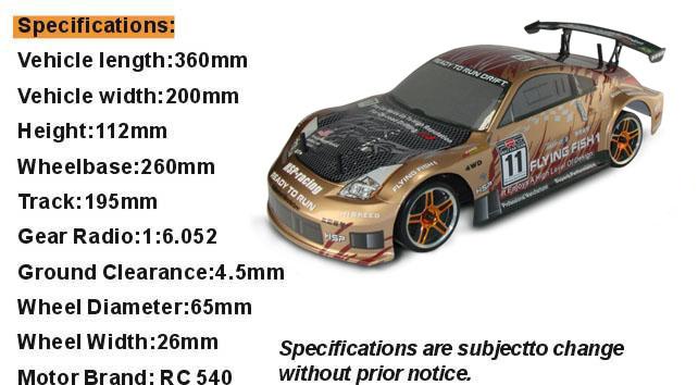 Toys&Hobbies 1/10 Electric Metal Plate RC Model Car