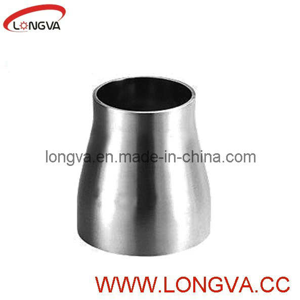 Stainless Steel Sanitary Butt-Weld with Straight Ends Eccentric Reducer